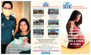 SICHC Women's Health Brochure in Spanish (outside)