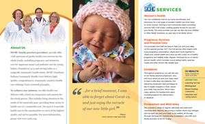 SICHC Women's Health Services Brochure - inside - English