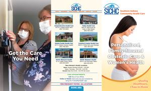 SICHC Women's Health Services Brochure - outside - English